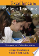 Excellence in College Teaching and Learning