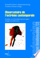 Observatoire de l'extrême contemporain