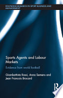 Sports Agents and Labour Markets