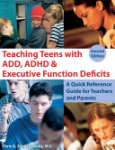 Teaching Teens with ADD  ADHD   Executive Function Deficits