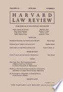 Harvard Law Review: Volume 131, Number 8 - June 2018