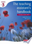Teaching Assistant s Handbook