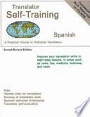 Translator Self Training Spanish
