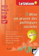 Mise en oeuvre des politiques sociales 3e édition - Le Volum' -