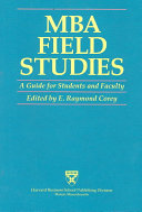 MBA Field Studies