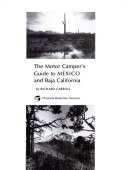 The motor campers  guide to Mexico and Baja California