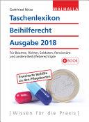 Taschenlexikon Beihilferecht Ausgabe 2018