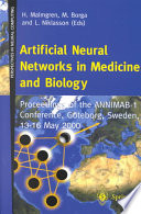 Artificial Neural Networks In Medicine And Biology book