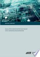 Qualitätsorientierter Entwurf von Anwendungsdiensten