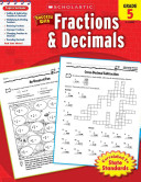 Success With Fractions   Decimals