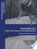 Driving with Care  Alcohol  Other Drugs  and Driving Safety Education Strategies for Responsible Living
