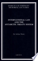 International Law and the Antarctic Treaty System