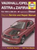 Vauxhall Opel Astra Zafira Diesel