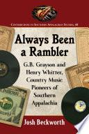 Always Been a Rambler