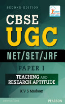 CBSE UGC NET   SET  JRF Paper I   Teaching and Research Aptitude