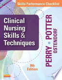 Skills Performance Checklists for Clinical Nursing Skills   Techniques8