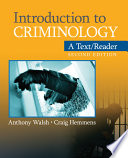 Ebook Introduction to Criminology Epub Anthony Walsh,Craig Hemmens Apps Read Mobile