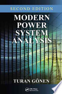 Modern Power System Analysis  Second Edition
