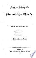 Fried. v. Schlegel's sämmtliche Werke