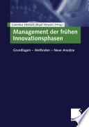 Management der frühen Innovationsphasen