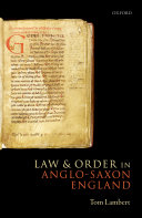 download ebook law and order in anglo-saxon england pdf epub