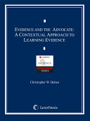 Evidence and the Advocate: A Contextual Approach to Learning Evidence