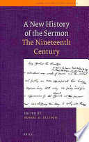 Ebook A New History of the Sermon Epub Robert H. Ellison Apps Read Mobile