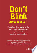 Don t Blink     Or You ll Miss It
