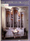 Ebook The American Organist Epub N.A Apps Read Mobile