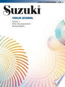 Suzuki Violin School   Volume 1  Revised
