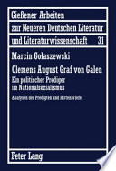 Clemens August Graf von Galen