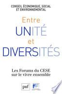 Entre Unit Et Diversit S