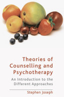 Theories Of Counselling And Psychotherapy