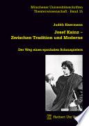 Josef Kainz - zwischen Tradition und Moderne