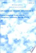 Overseas trade statistics