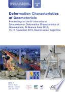 Deformation Characteristics Of Geomaterials
