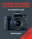Canon EOS Rebel T6s 760d   T6i 750d