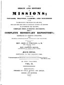The Origin and History of Missions ...