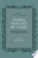 Words Overflown By Stars