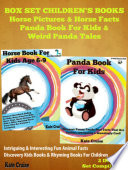 Box Set Children s Books  Horse Picture Book For Kids   Panda Book For Kids
