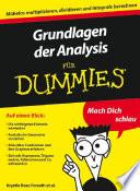 Grundlagen der Analysis f  r Dummies