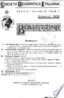Bollettino della Societ   geografica italiana