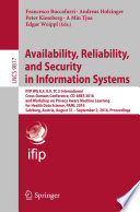 Availability Reliability And Security In Information Systems