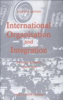 International organization and integration