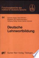 Deutsche Lehnwortbildung