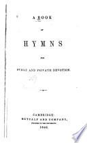A Book of Hymns for Public and Private Devotion