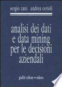 Analisi dei dati e data mining per le decisioni aziendali