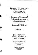Public Company Deskbook