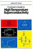 Engineer S Guide To High Temperature Superconductivity book