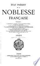 État présent de la noblesse française, 1866
